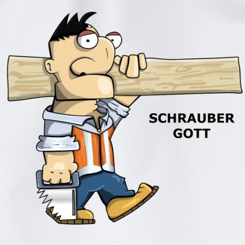 Handwerker Schrauber gott - Turnbeutel