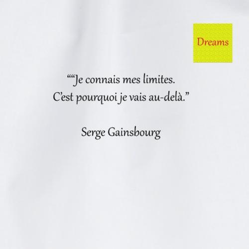 Dreams collection Serge Gainsbourg - Sac de sport léger