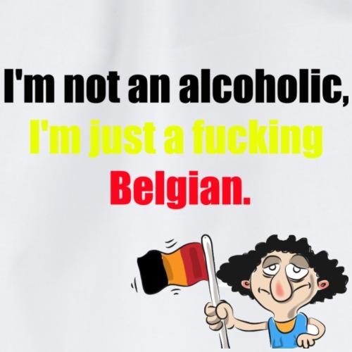 Je ne suis pas Belge anglais - Sac de sport léger