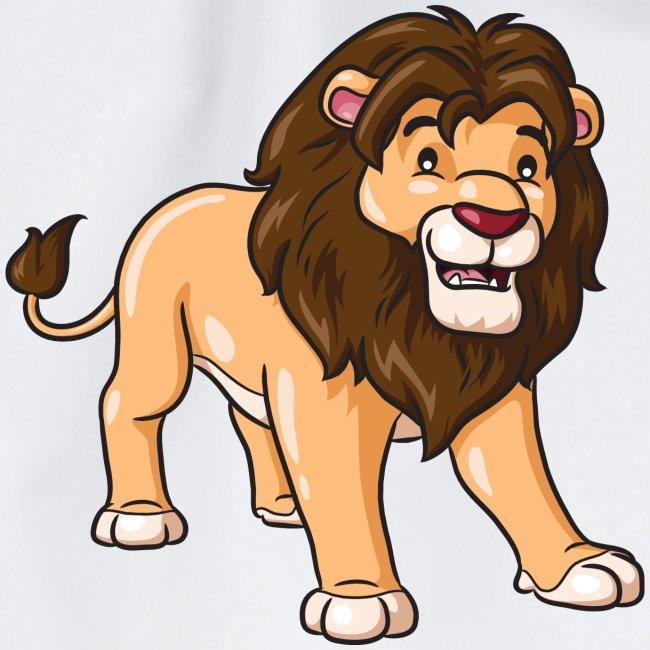 Löwe Comic süß