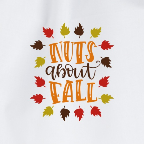 Nuts about fall - Turnbeutel