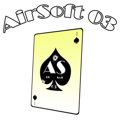 Logo AS03 blanc contour - Sac de sport léger