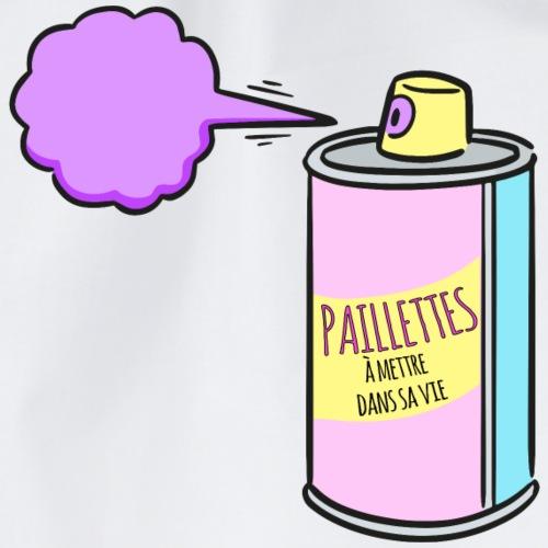 Spray paillettes - Sac de sport léger