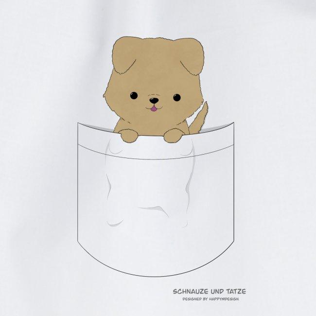 Hund in Tasche