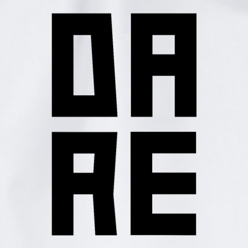 DARE - Turnbeutel