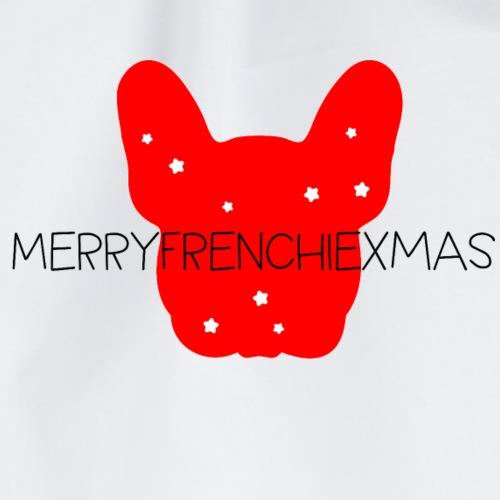 French Bulldogg Xmas - Turnbeutel