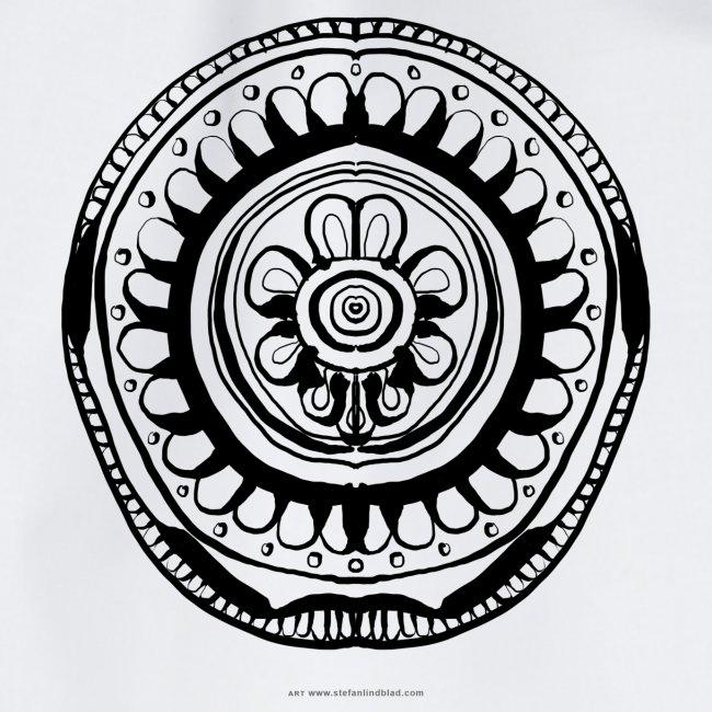 Street Mandala 1 Stefan Lindblad Illustration