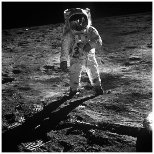 moon landing apollo - Gymnastikpåse