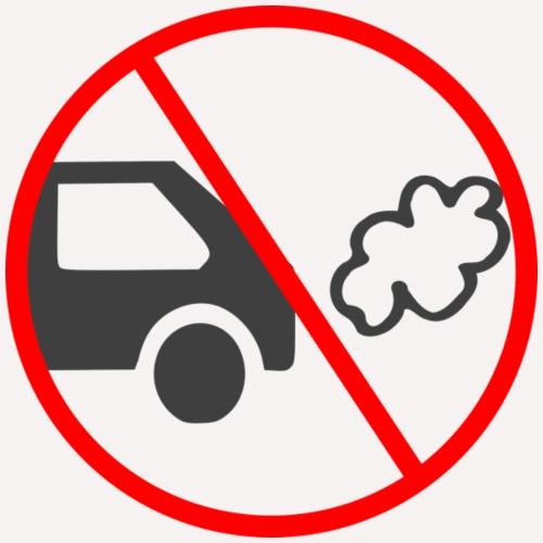 No Car Pollution - Drawstring Bag