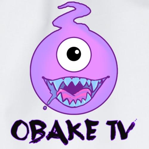Obake TV Logo - Turnbeutel