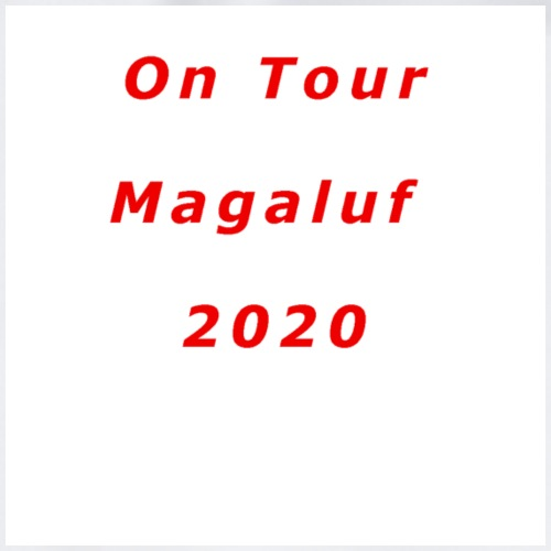 On Tour In Magaluf, 2020 - Printed T Shirt - Drawstring Bag