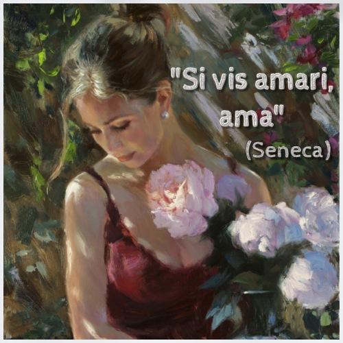 Citazione Seneca amore - Sacca sportiva
