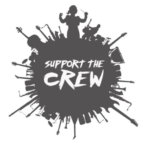 SUPPORT THE CREW - Gymtas