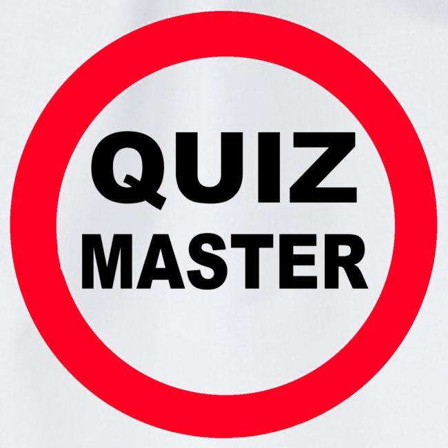 Quiz Master Stop Sign