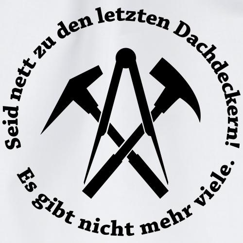 Dachdecker - Turnbeutel