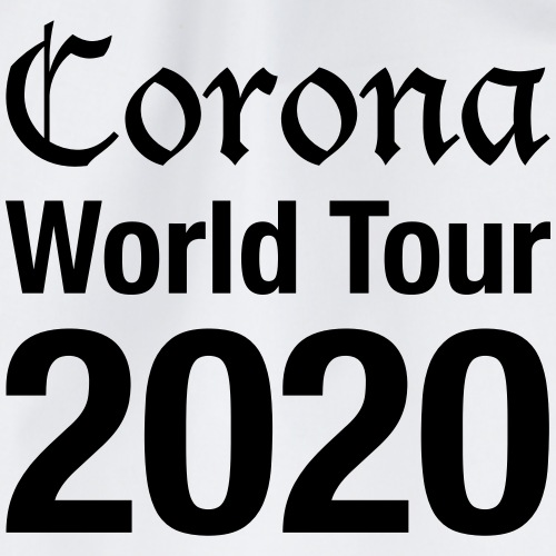 Corona World Tour - Turnbeutel