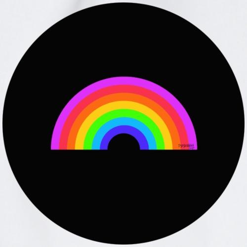 Rainbow on black - Jumppakassi