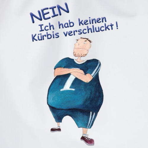 Halloween | dicker Mann | Trainingsanzug | Kürbis - Turnbeutel