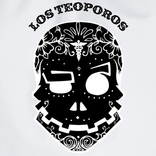 Los Teoporos calavera police Negatif - Sac de sport léger