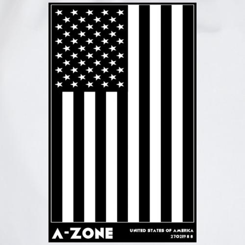 AZONE american flag - Drawstring Bag