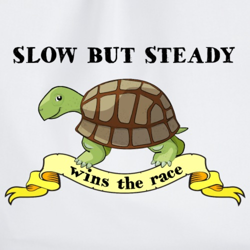 Slow but Steady - Gymnastikpåse