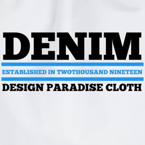 Denim Design Paradise (Hell) - Turnbeutel