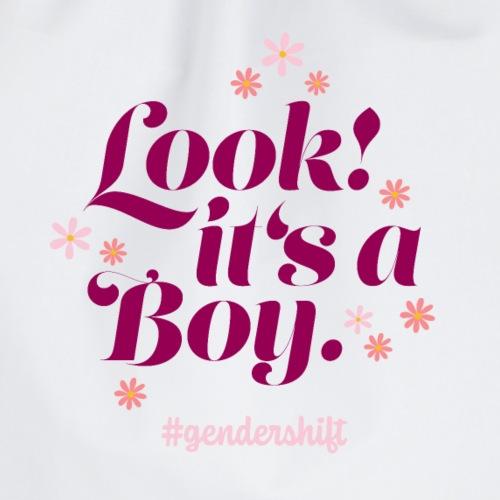 Look! It's a Boy. - Turnbeutel