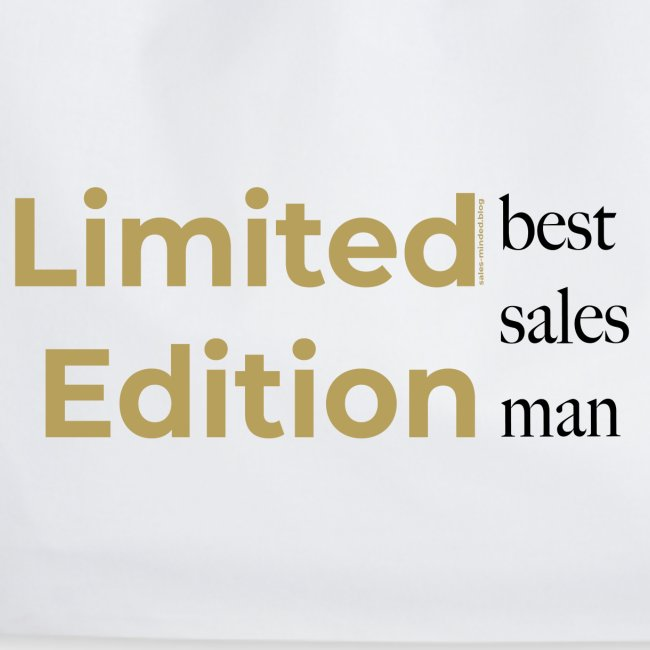 Limited Edition - best sales man
