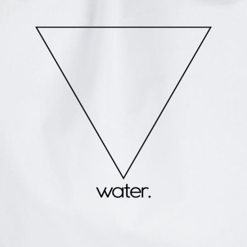 water. (black) - Turnbeutel