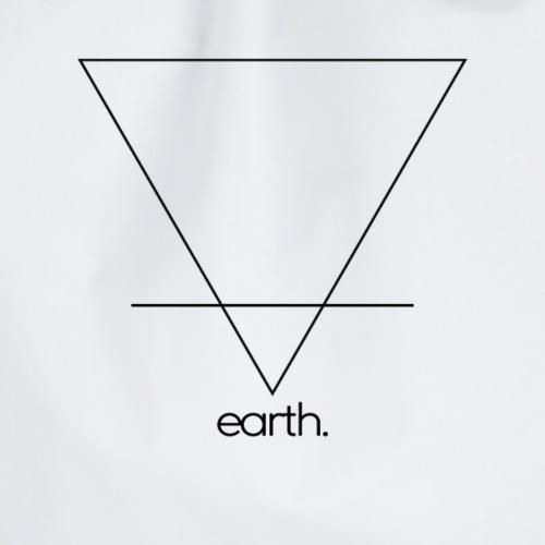 earth. (black) - Turnbeutel