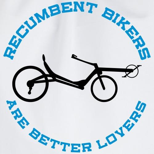 recumbent bikers are better lovers - Turnbeutel