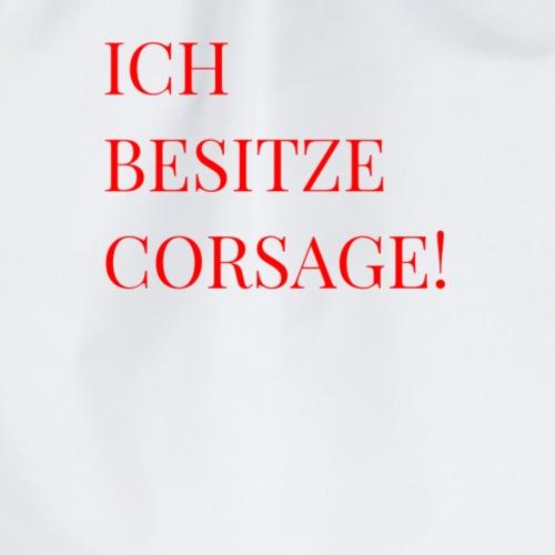 Corsage - Turnbeutel