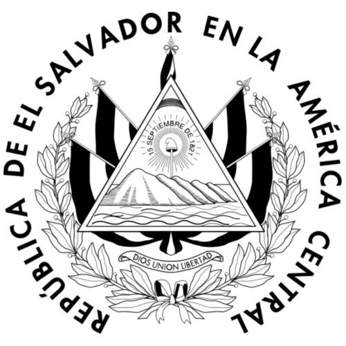 escudo de El Salvador - Mochila saco