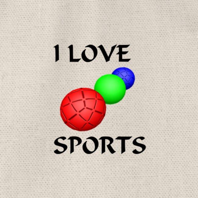 I LOVE SPORTS Amantes del deporte