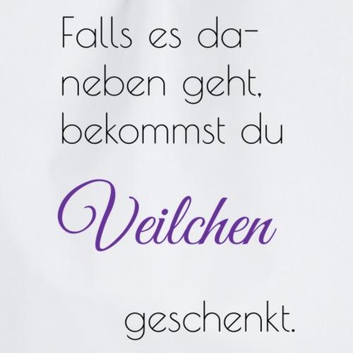 Veilchen - Turnbeutel