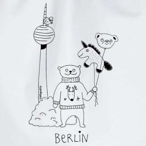 Berliner Winterbär   littlepublic - Turnbeutel