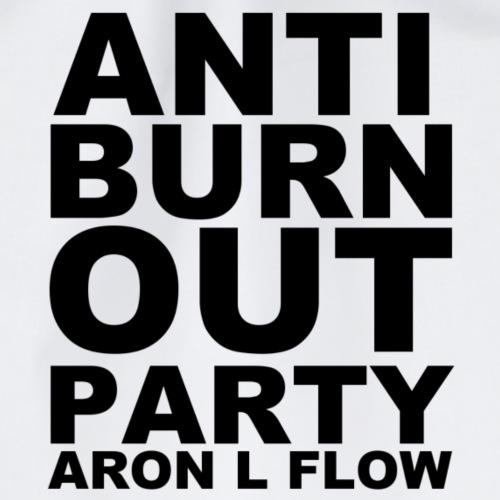 Anti Burn Out Party black - Turnbeutel