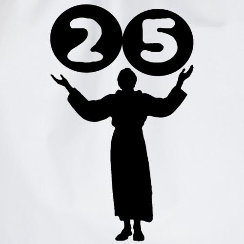 Geburtstag 25 Jahre - Turnbeutel