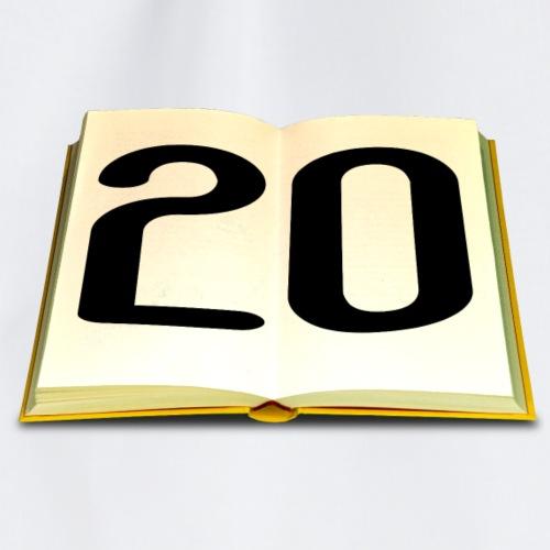 Geburtstag 20 Jahre - Turnbeutel