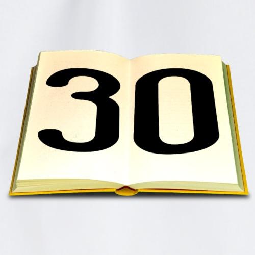 Geburtstag 30 Jahre - Turnbeutel