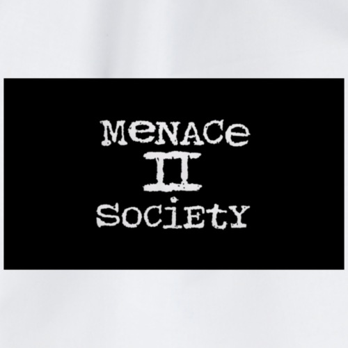 menace to society - Turnbeutel