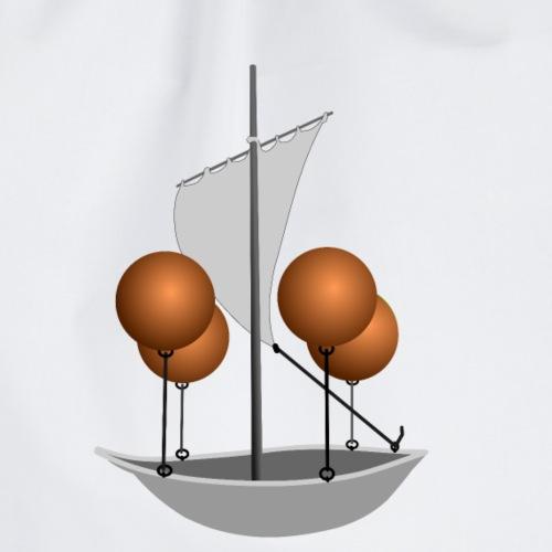 Airship utopia - Drawstring Bag
