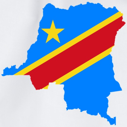 Democratic Republic of Congo flag Shirt - Drawstring Bag