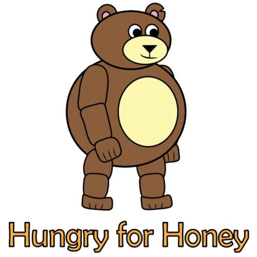 Bär - Hungry for Honey - Turnbeutel