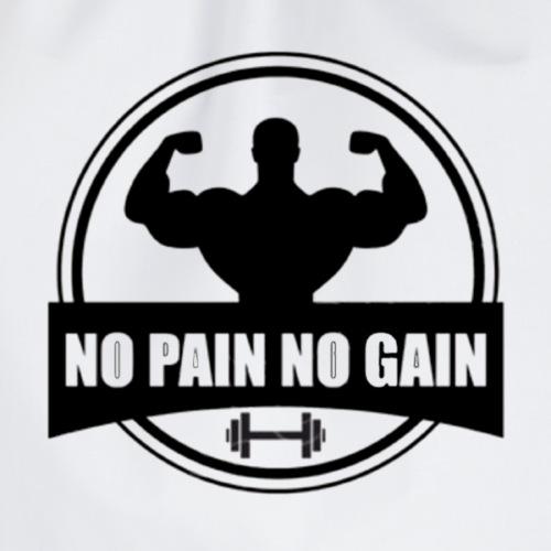 MUSCULATION NO PAIN NO GAIN - Sac de sport léger