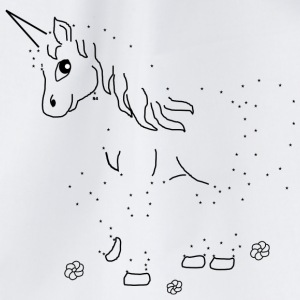Unicorn Paint by Numbers - Gymnastikpåse