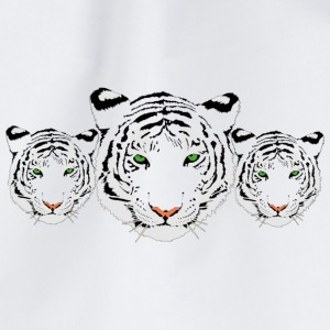 withe Tiger - Gymbag