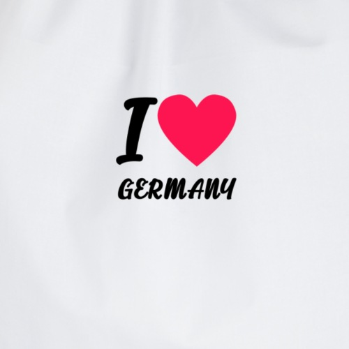 I Love Germany - Turnbeutel