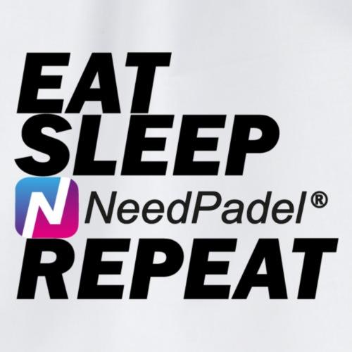 Eat Sleep Repeat - Sac de sport léger