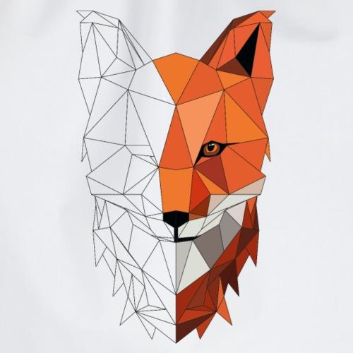 Fuchs Low Poly - Turnbeutel